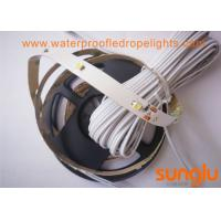 China 12Vdc Flexible LED Strip Lights 2.8W SMD3528 / 4500K Cabinet LED Tape Light wholesale