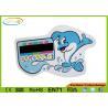 bath tub thermometer card flexible pet bath water temperature strips