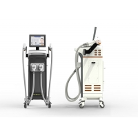 China Beauty Centre Mobile Laser Hair Removal Machine For Dark Skin High Efficiency wholesale