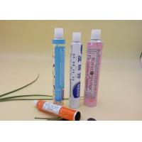 China Collapsible Printed Tube Packaging For Ointment 20g Volume Thread Nozzle wholesale