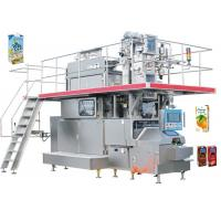Buy cheap 35KW Stainless Carton Brick Beverage Packaging Machine Beverage Filling Line 125 from wholesalers