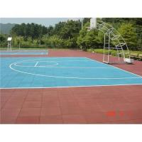 China Sports rubber floor wholesale