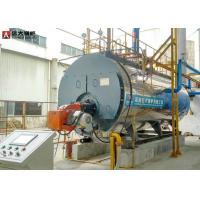 China Vapour Outlet 500kg/h to 10000kg/hr LPG Fire Tube Steam Boiler Price on sale
