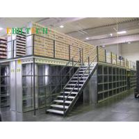 China Q235 Steel  Mezzanine Floor Racking System  High Capacity Multi-layer  Space Saving wholesale