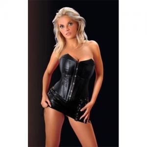 China Corset dress,Leather corset on sale
