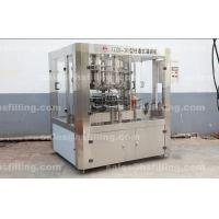 China Bottle volumetric lube / Soybean Oil Filling Machine with CE ISO 32 Filling Head Supplier