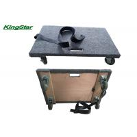 Buy cheap Solid Top Deck Carpeted Moving Dolly , Furniture Mover Rollers Non Marking Swivel Casters from wholesalers