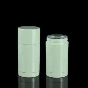 China 30ml 50ml 75ml Green Plastic Straight Round Twist-up Empty Deodorant Bottles wholesale