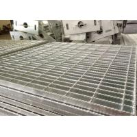 China Anti Slip Mild Steel Steel Platform Grating , Hot Dipped Galvanised Steel Grate wholesale