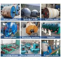 Quality Waste Recycling Manufacturing Production Line Mill Tissue Toilet Roll Making for sale