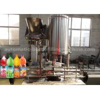 Small Split Beverage Filling Machine 2.25KW No Fluid Loss For Fruit Juice