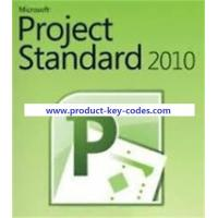 China Stable FPP Microsoft Office Product Key Codes , MS Project 2010 Professional Key wholesale