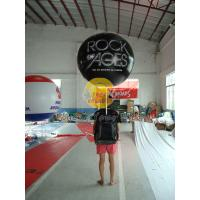 China Customized PVC Attractive Durable Backpack Balloons with Full digital printing for Parade wholesale