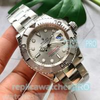 China Rolex Yacht-Master II Replica Watch Silver Dial Stainless Steel wholesale
