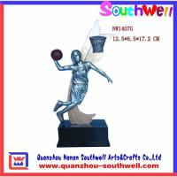 China Polyresin basketball trophy,sport trophy,polyresin figurines,trophy awards wholesale