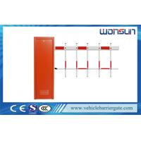 China Vehicle Car Automatic  Barrier Gate Access Control with Two Fence Boom wholesale