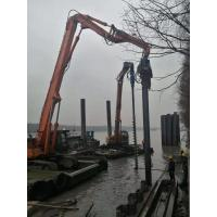 China Small Volume Concrete Pile Driving Equipment Low Noise During Construction wholesale