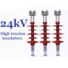 China Composite High Tension Insulators , 24kv Hydrophobic Overhead Line Insulators wholesale