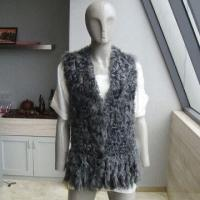China Lamb Fur Vest, Made of Lamb Fur VEST Materials, Available in Various Colors on sale