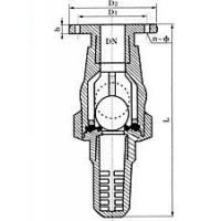 Buy cheap Plastic Flanged Foot Valve from wholesalers