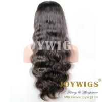 China New arrival high quality curly color #1 20inch hair human wigs wholesale china wholesale