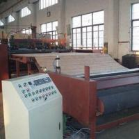 China Nonwoven Fabric Machine, Used for Making Polyester and Silk-like Wadding and Non-glue Cotton on sale