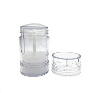China Clear Study Empty Plastic Deodorant Bottles Solid Stick Containers wholesale