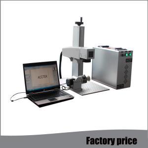China Raycus Small Laser Etching Machine , Air Cooling Mini Laser Engraving Machine wholesale