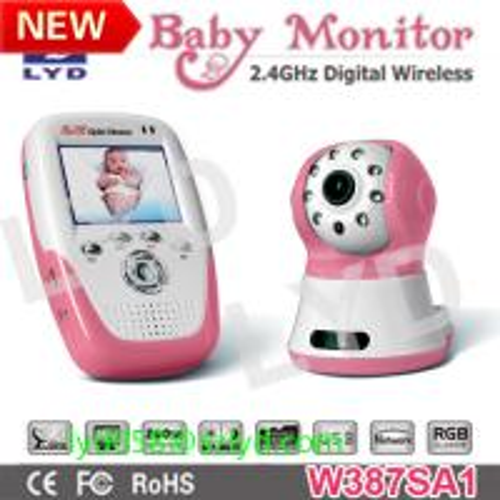 2012 quad display recording digital wireless baby monitor of daniya. Black Bedroom Furniture Sets. Home Design Ideas