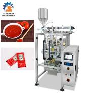 Buy cheap Automatic Vertical Liquid Packing Machine For Ketchup / Tomato Paste Sachet from wholesalers