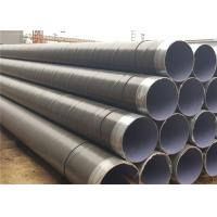 China API 5L X42 Spiral Welded Pipe With Plastic Pipe Cap Or Iron Protector on sale