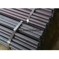 China Carbon Steel Self Drilling Rock Drill Rods For Slope Reinforcement Soil Nail wholesale