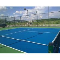 China Polyurethane Commercial Rubber Gym Flooring For Baskebtall Court Colorful wholesale