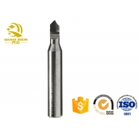 China Single Bass CFRP Groove PCD Diamond Cutter R8 Boring PCD Cnc Engraving Tools wholesale