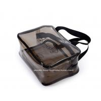 China Premium Carry On Compliant PVC Cosmetic Bag Waterproof Travel Makeup Pouch wholesale