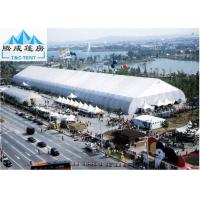 China Galvanized Steel 30x50m Sporting Event Tents , White PVC Roof Aluminum Marquee wholesale