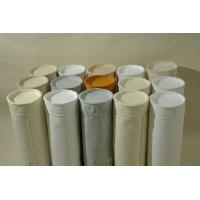 China High Strength Custom Polyester oil&water repellent and Anti-static Dust Collector Bags For Cement Mine Iron Food wholesale