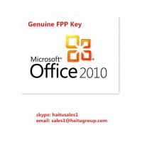 Buy cheap Genuine Office 2010 Professional Microsoft Office Product Activation Key from wholesalers