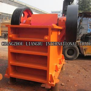 Buy cheap Stone Crushing Equipment Jaw Crusher Machine Capacity 10 -120 T / H PEX 350 X from wholesalers