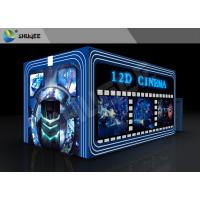 China Entertainment Virtual 12D Cinema XD Theatre Cabin With 3DOF Eletric Chairs wholesale