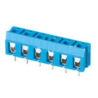 China TB 3.81mm pitch 2P 3P make to XXXP 300V 16A pcb board use screw terminal block blue color wholesale