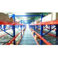 China Structural Pallet Rack Mezzanine Systems Corrosion Protection Raised Storage Area wholesale