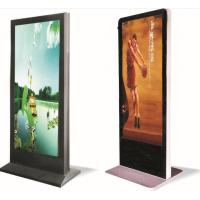 China Aluminum 55 inch Floor Standing P3 Led Advertising Player For Shopping Malls wholesale
