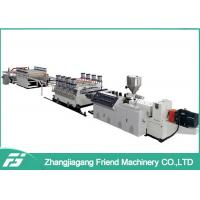 Buy cheap White Pvc + Wood Board Wpc Board Production Line 1220mm Width 5mm Thickness from wholesalers