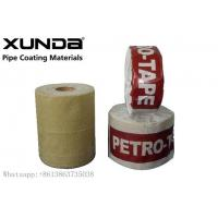 China UV Resistance Petroleum Petrowrap Anti Corrosion Tape For Pipe Fitting Flange wholesale