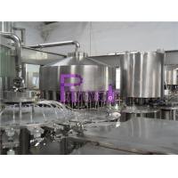 China Automatic Monoblock Pulp Juice Filler , Three In One Filling Machine wholesale