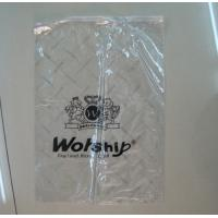 China custom recycling zip lock plastic bags for clothes black polythene bags industry wholesale