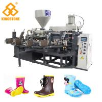 Buy cheap 1 color Rotary Plastic Shoes/boots Making Machine for kids boots with 2 Years from wholesalers
