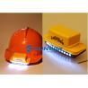 Buy cheap Power 1.3W Motorcycle Helmet LED Lights , LED Helmet Light Kit Input Voltage 9V from wholesalers