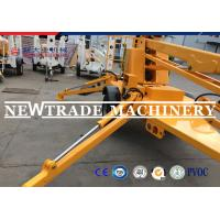 China Skyscraping Tower 6-17m Trailer Mounted BoomLift / Tow Behind Towable Boom Lift on sale